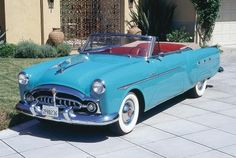 1952 Packard 250 Convertible Coupe