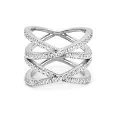 double x cage ring