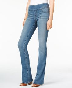 Style & Co. Pull-On Republic Wash Bootcut Jeans, Only at Macy's