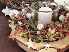 Adventskranz - Adventskranz *Merry Christmas* - ein Designerstück von tulip-dekoCONZEPT bei DaWanda