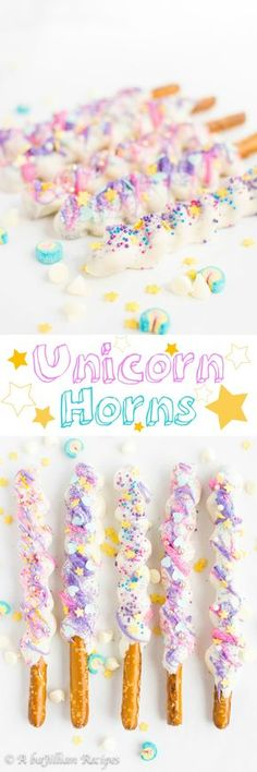Unicorn Horns | A baJillian Recipes