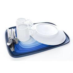 Egouttoir vaisselle design géo