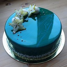   Starfruit Cake With A Perfect Glaze   By @mashinskaya_ann #eater #thekitchn…
