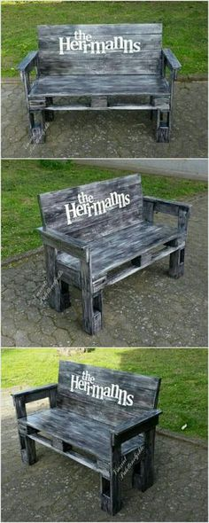 Bench is also the modified form of pallets which can be placed in your garden, terrace and lawn for sitting. To boost the beauty of your place you can also paint it with different attractive color.