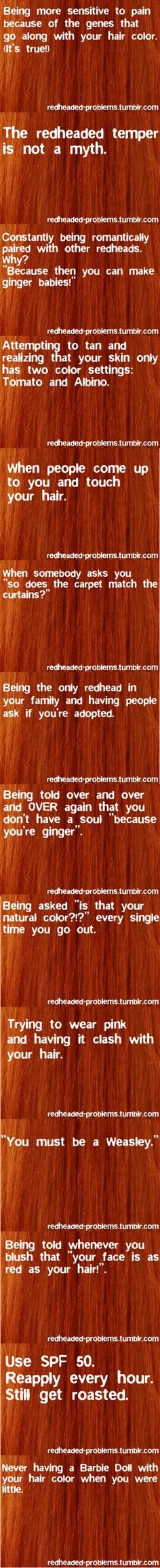 Redheaded Problems--Compilation!