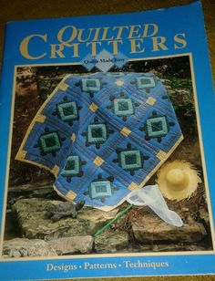 QUILTED CRITTERS ~ QUILTS MADE EASY - OXMOOR HOUSE