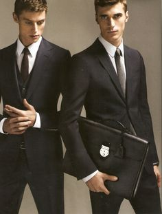 Gucci Menswear Fall/Wint 2014 - Janis Ancens & Clement Chabernaud by Mert & Marcus