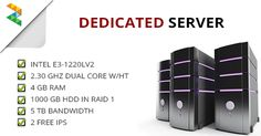Raidlayer's dedicated server range spans from affordable entry-level servers to powerful business servers.