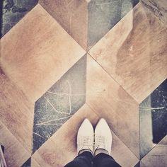Cube tile with squares and rhomboid #fromwhereistand #floorcore #flooraddict #whereistand #flooring #tileaddict #floorcore #tiles
