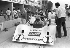 David Hobbs - Lola T310 Chevrolet - Carl A. Haas Racing Teams, Ltd. - 6-Hours and The Can-Am, The Glen - Can-Am Watkins Glen - 1972 Canadian-American Challenge Cup, round 3
