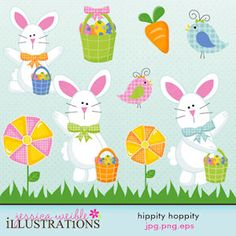 THe most adorable bunnies for Easter!