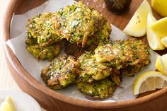 These tasty fritters are a great way to get even the fussy eaters to love their vegetables.