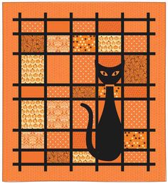That Cat Halloween 500px Friday Free Quilt Patterns: That Cat