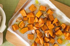 PUMPKIN. Roasted to golden perfection, this easy pumpkin dish makes a versatile side dish.