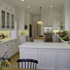 Galley Kitchen Layouts With Peninsula long narrow kitchens design, pictures, remodel, decor and ideas