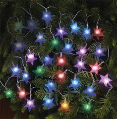 be different this season with color changing star lights for the tree star string lights