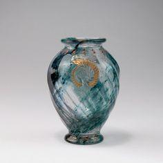 GALLE Rare 'Geologia' Intercalaire vase, 1889 : Lot 48