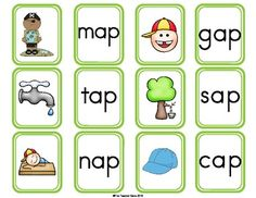 'AP' WORD FAMILY WORD WORK {FREE} - TeachersPayTeachers.com