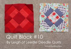 Here it is: Block #10 of the Virtual Quilting Bee! (I can't believe how fast we are clipping along!) New? Wondering what the Virtual Quilting Quilting Bee is? Want to find tutorials for the past blocks? Go here. I am so excited to make this block. This one is taught by Leigh of Leedle Deedle Quilts. After you use the tutorial be sure to check out Leigh's other quilts. She's got some beauties! GO HERE FOR THE BLOCK TUTORIAL POST EDIT: my block ended up small, but one simple fix worked…