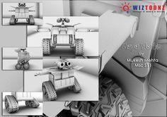 """3D Maya works – done by Mukesh Mehta – Batch – Msc - S-11"""