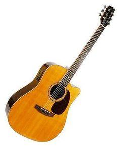 Boulder Creek Guitars ECS2-V Stage & Studio Series Guitars Nice BC Hard Case