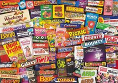 Sweets from the 80s. Check the prices.