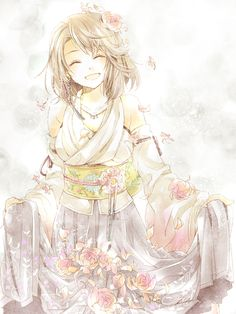 Yuna | Final Fantasy X #fanart #game #anime