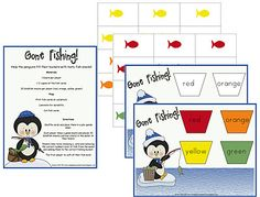 Criss-Cross Applesauce: Penguin Fishing Game (Freebie!)