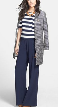 Nautical stripes @Nordstrom