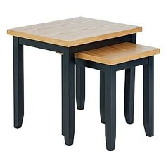 Buy Hygena Luna Nest of 2 Tables - Black at Argos.co.uk, visit Argos.co.uk to shop online for Nest of tables, Limited stock Home and garden, Coffee…
