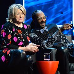 Martha Stewart and Snoop Dogg Are Teaming Up for a 'Dinner Party' TV Show...should be funny and entertaining! l #favecelebrities