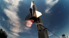@GoPro Experimental Rockets to 30,000 Feet! Download, share directly to Facebook, Twitter, Instagram, Pinterest, Reddit, WhatsApp, Message, e-mail or view the original Video #cool #awesome #flying #rocket #gifivideo #gopro