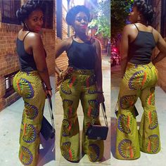 Happy Sunday!  Ankara pants coming soon #AW15 #mabmdesigns #mabmbymaaakua #ankaraprint