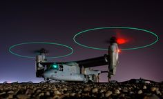 V-22 Osprey - My husband makes parts for this helicopter