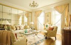 warm classic living room