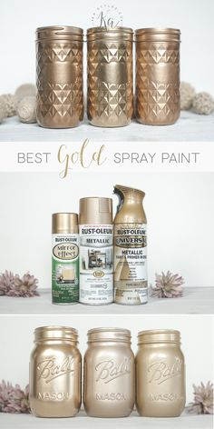 10 Tips for Spray Painting Furniture Mirror Effect Paint, Spray Paint Mirror, Best Gold Spray Paint, Spray Paint Frames, Diy Spray Paint, Mirror Painting, Gold Paint, Metallic Spray Paint Colors, Spray Painting Lamps