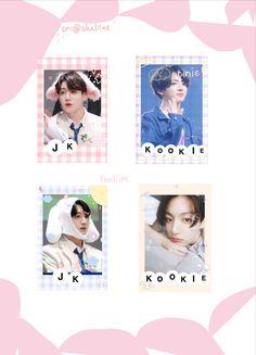 Bts Army Bomb, Kpop Diy, Bts Polaroid, Bts Maknae Line, Cute Poster, Album Bts, Bullet Journal Ideas Pages, Aesthetic Stickers, Bts Video