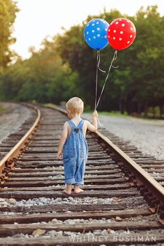 Whitney Bushman Photography- Two year old boy birthday pictures