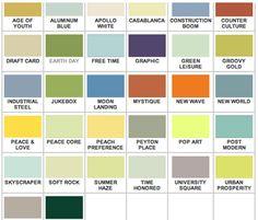 Mid-Century Colors