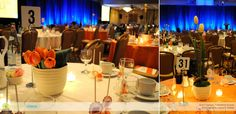 non profit gala theme ideas | In both instances, we worked closely with these budget-savvy clients ...