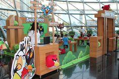 Eğlenceli anların yaşandığı Angry Birds etkinliği devam ediyor.   Angry Birds 22 Eylül tarihine kadar Palladium AVM'de olacak, seni de bekliyoruz. #palladiumatasehir