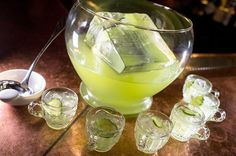 NYT Cooking: Jim Meehan of PDT in Manhattan uses an extractor to get cucumber juice for this punch. You can buy cucumber juice from your local juice store too. Winter Drinks, Summer Drinks, Fancy Drinks, Drinks Alcohol Recipes, Alcoholic Drinks, Cocktails, Drink Recipes, Beverages, Food N