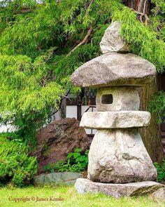 Stone lantern. Isehara Kanagawa Japan. #日本 More #japanesegardens
