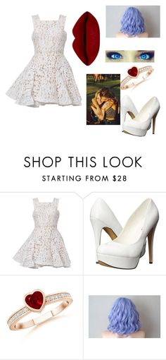 """""""My Valentine's Day Wish"""" by canadian-camera-lover ❤ liked on Polyvore featuring Alex Perry and Michael Antonio"""