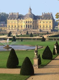 Château Vaux Le Vicomte near Paris, France