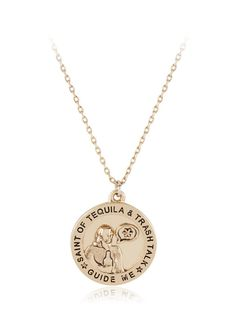Gold Tequila Necklace