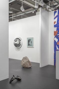 Installation view, Galleria Franco Noero, Art Basel, 2016