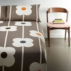 Buy Orla Kiely Abacus Bedding, Mushroom Online at johnlewis.com