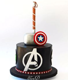 Avengers Cake -