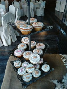 Handmade wedding cupcakes!!!